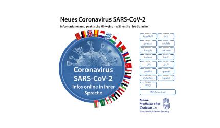 Ενημέρωση για τον COVID-19: Ενημέρωση και χρήσιμες πληροφορίες για τους Έλληνες στη Γερμανία