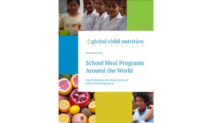 Tο Πρόγραμμα ΔΙΑΤΡΟΦΗ στην Παγκόσμια Έρευνα για τα Προγράμματα Σχολικών Γευμάτων για το 2021 του Ιδρύματος Global Child Nutrition Foundation