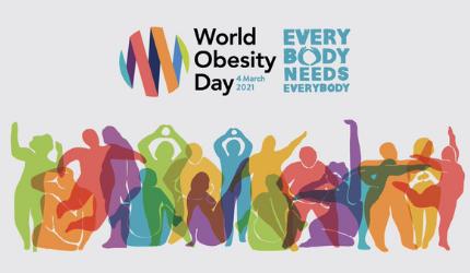 4 Μαρτίου 2021: Παγκόσμια Ημέρα Παχυσαρκίας
