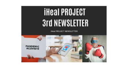 Το τρίτο Newsletter του προγράμματος iHeal